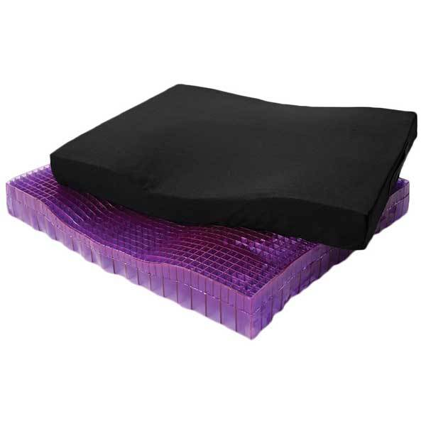 purple seat cushion