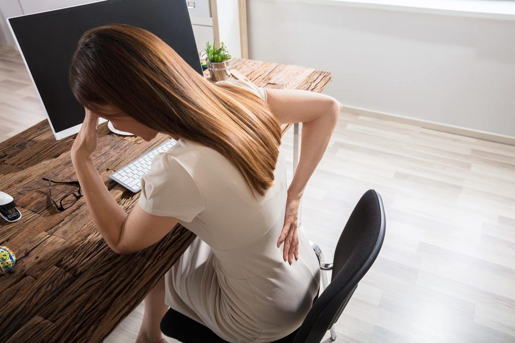 How to Ease Lower Back Pain While Sitting