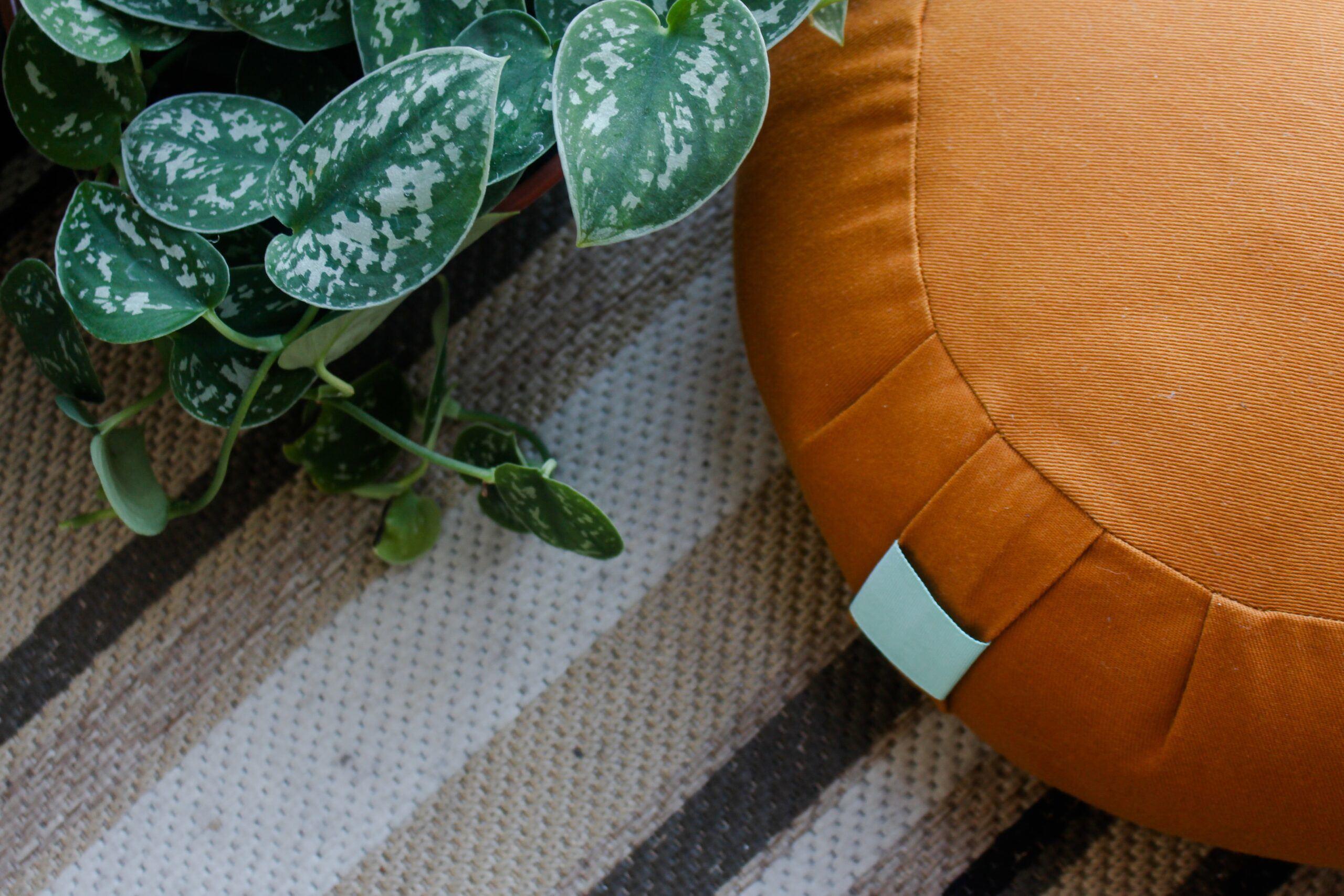 how to use a meditation cushion